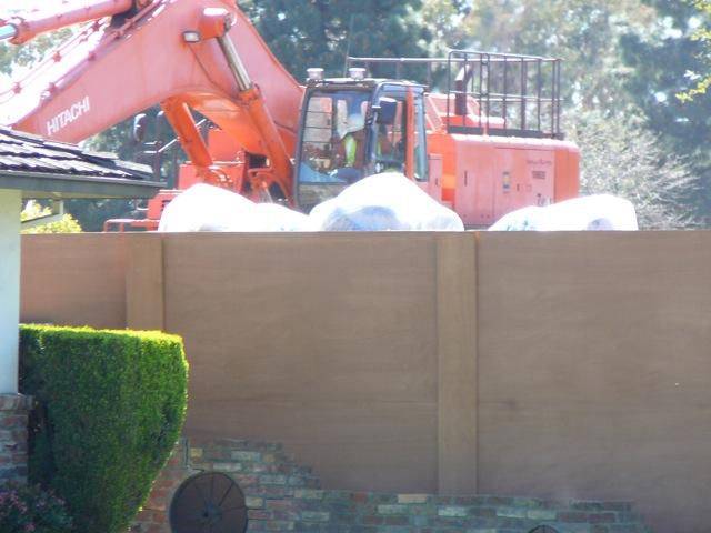 Back Yard Excavation : Pamf sunnyvale construction noise impacts eyesunnyvale