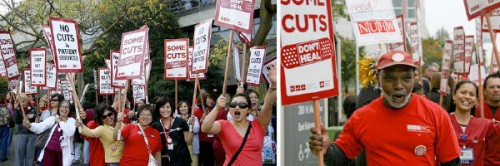 Sutter Nurses Strike Sept 22, 2011 Credit Courtesy Community Commons